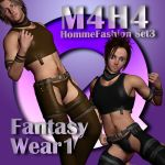 M4H4 Homme Fashion Set 3 - Fantasy Wear 1