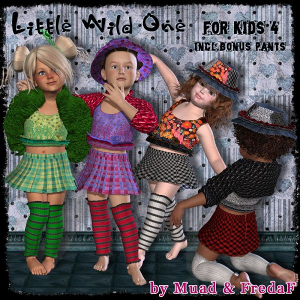 Little Wild One for Kids 4