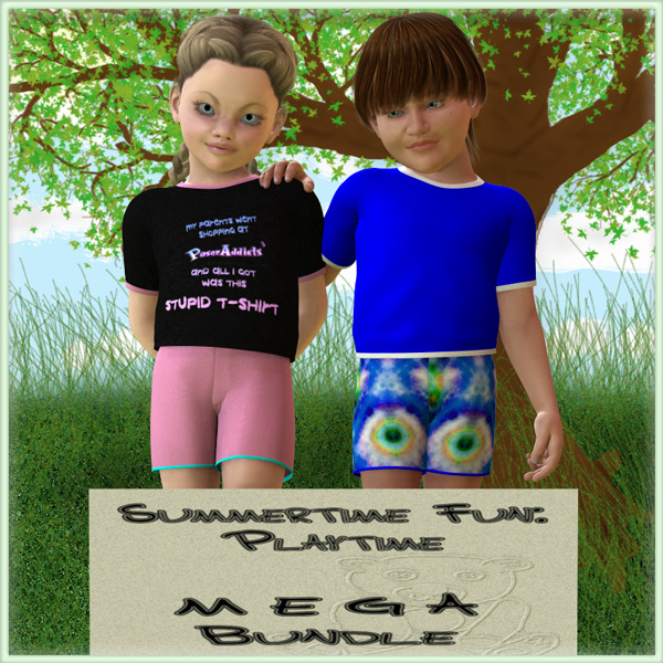 Playtime Mega Bundle for K4 Basicwear
