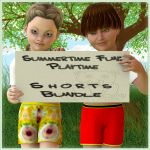 Playtime Shorts Bundle for K4 Basicwear