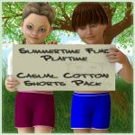 Playtime Casual Cotton Shorts Pack for K4 Basicwear