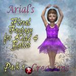 Floral Fantasy for Kids4 Ballet Pack 1