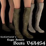 Rogue Armory Boots V4A4S4