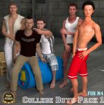 TT College Boys Pack 01