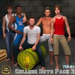 TT College Boys Pack 02