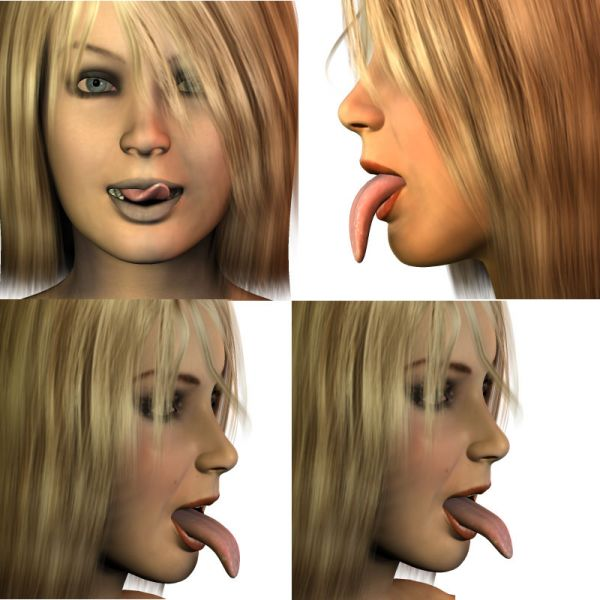 Laura's Teen Tongue Morphs