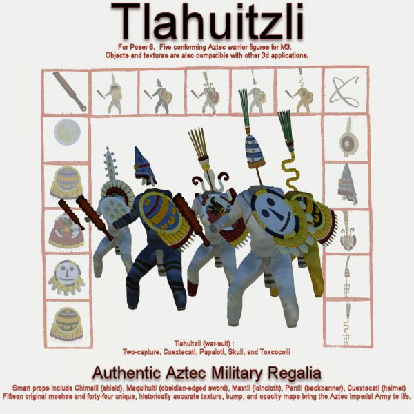 Mx Tlahuitzli Set