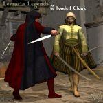 Lemuria Legends for Hooded Cloak