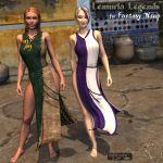 Lemuria Legends for Fantasy Wrap