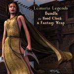 Lemuria Legends Bundle for Hood Cloak & Fantasy Wrap