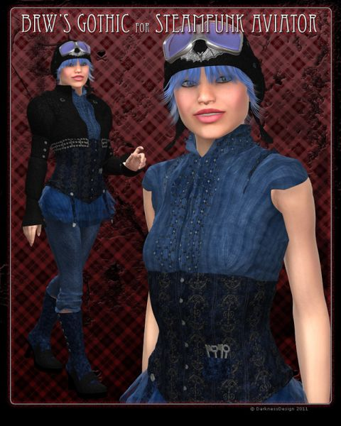 BRW Gothic for Steam Punk Aviator