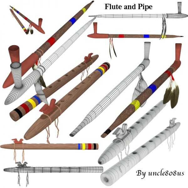 Flute and Pipe