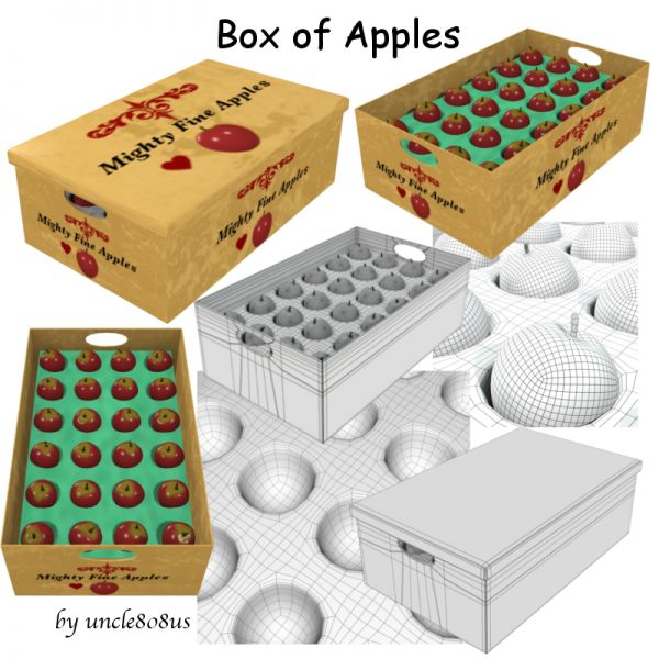 Box of Apples