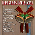 Christmas Bells.obj