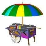 Corn Dog Cart