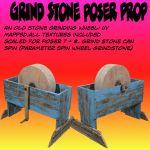 GrindStone Poser prop