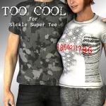 Too Cool for the Sickle Super Tee
