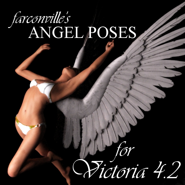 Farconville's Angel Poses for Victoria 4.2
