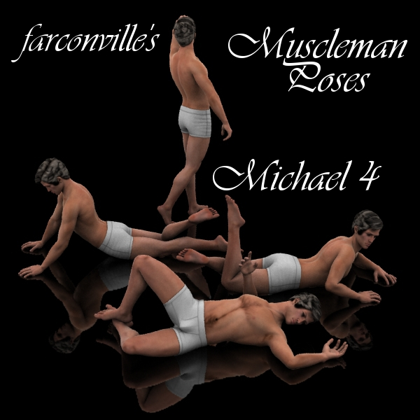 Farconville's Muscleman Poses for Michael 4