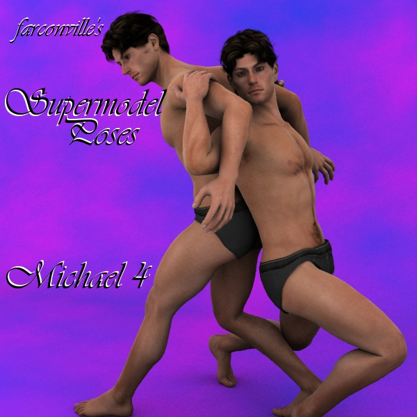 Farconville's Supermodel Poses for M4M4