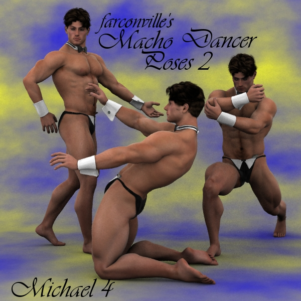 Farconville's Macho Dancer Poses 2 for Michael 4