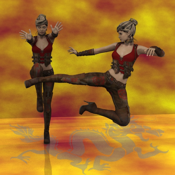 Farconville's Victoria 4.2 Deadly Poses for Anarchy