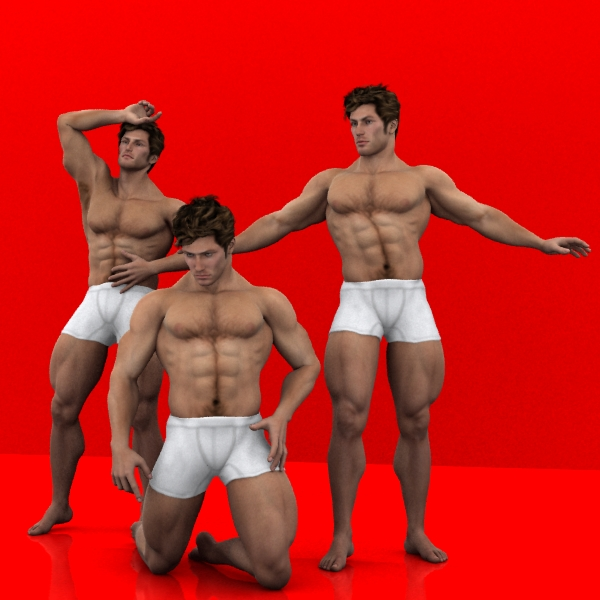 Farconville's Muscleman Poses 2 for Michael 4