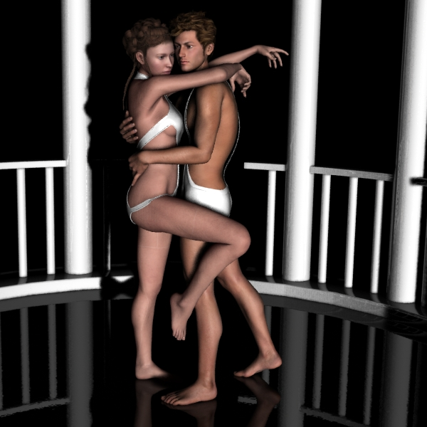 Farconville's Love Poses 2 for M4-V4