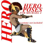 Farconville's Hero Poses for Michael 4