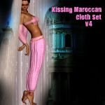 Kissing Maroccan, V4 Outfit
