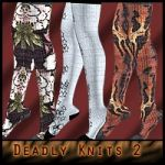 Deadly Knits II: For Gizmee's knitted stockings