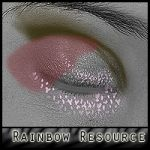 Rainbow Makeup MR for V4