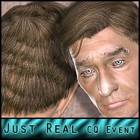 Just Real: For CQ-Event Hair