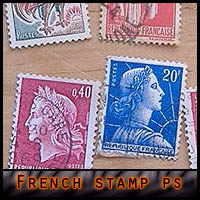 French Stamps Brushes