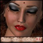 Mehndi Henna Inspired Makeup MR