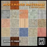 Moe's Mixed Materials Volume 3