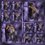 Ixdon: D3 Street Fight Poses 1