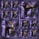 Ixdon: D3 Street Fight Poses 3