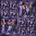 Ixdon: James KickBoxing Poses 3