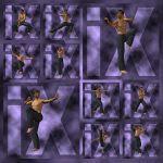 Ixdon: James Martial Arts Poses 3