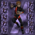 Ixdon: Hiro Action Poses 2
