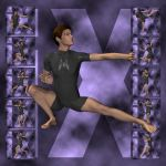 Ixdon: David, M3 Martial Arts Poses 2