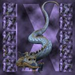 Ixdon: Eastern Dragon Poses 1