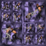 Ixdon: G2M Comic Action Poses 4