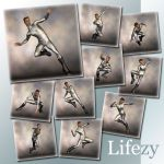 Lifezy: Action Poses of David, M3 #2