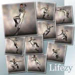 Lifezy: Action Poses of David, M3 #3