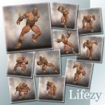 Lifezy: Action Poses of Freak, Troll #1