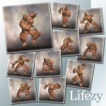 Lifezy: Action Poses of Freak, Troll #2