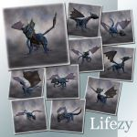 Lifezy: Poses of Hatchling: Pack #1
