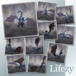 Lifezy: Poses of Hatchling: Pack #2